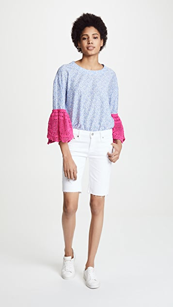 Michaela Buerger Bell Sleeve Top