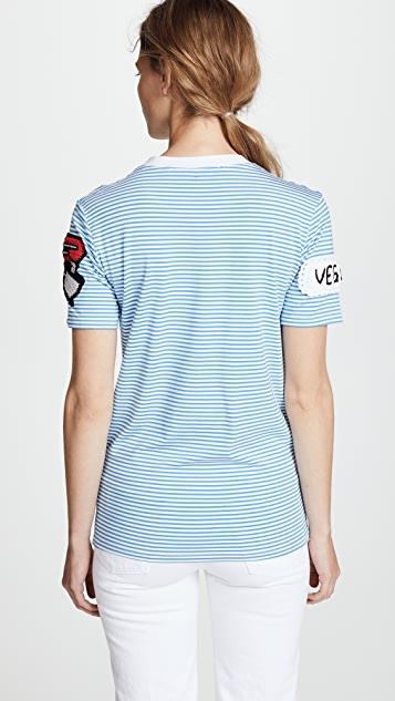 Michaela Buerger Cake Patch Striped Tee