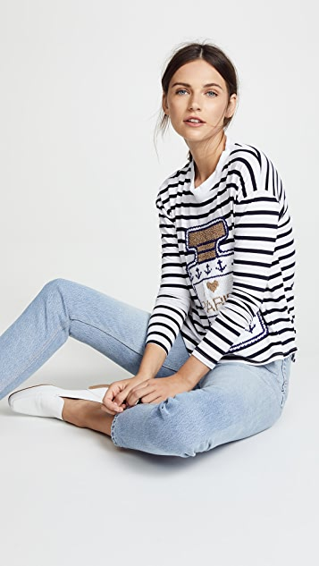 Michaela Buerger Perfume Bottle Shirt with Anchors