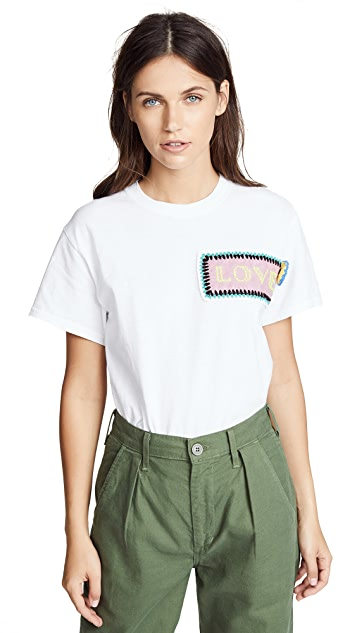 Michaela Buerger Love Patch Tee
