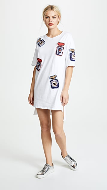 Michaela Buerger Oversized Perfume Bottle Tee