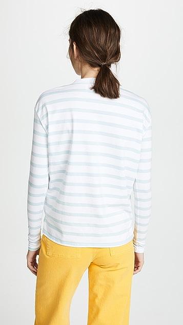 Michaela Buerger LS Perfume Striped Tee