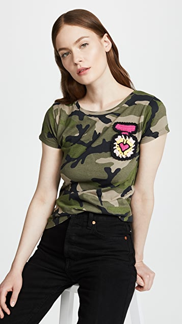 Michaela Buerger Camo Fitted Tee