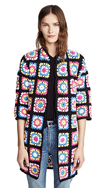 Michaela Buerger Crochet Flower Coat