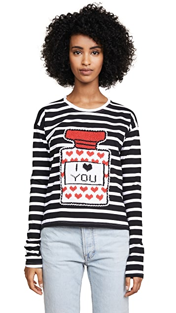 Michaela Buerger I Love You Perfume Bottle Tee