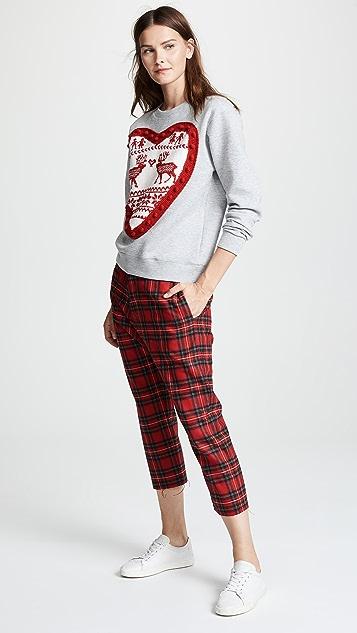 Michaela Buerger Heart Sweatshirt
