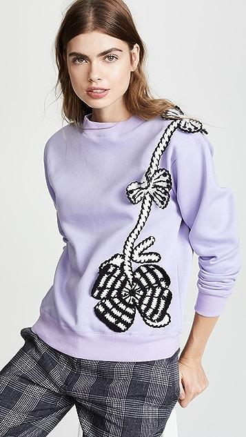 Michaela Buerger Flowers Sweatshirt