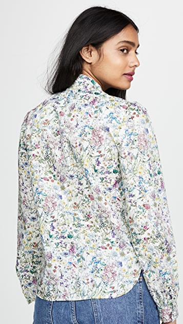 Michaela Buerger Floral Button Down Shirt