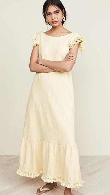 Michaela Buerger Платье без рукавов с оборками
