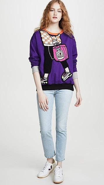 Michaela Buerger I Love Paris 便携运动衫