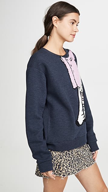 Michaela Buerger I Love Paris Fancy Sweatshirt