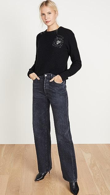 Michaela Buerger Waffle Knit Cashmere Sweater