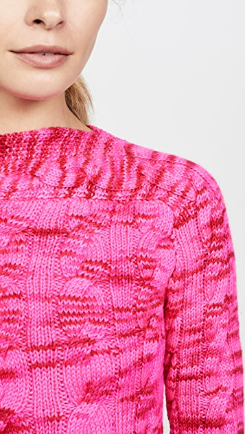 Michaela Buerger Boat Neck Sweater
