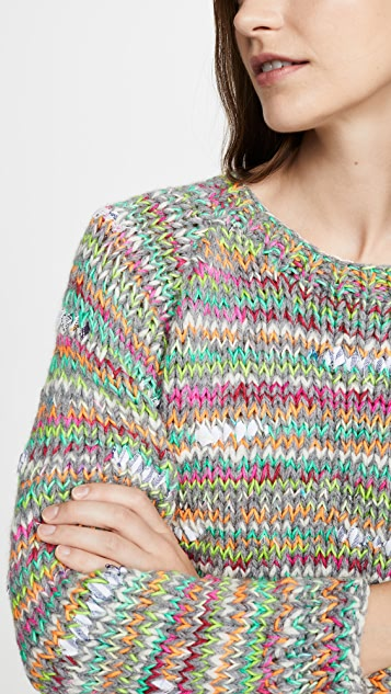 Michaela Buerger Cropped Alpaca Sweater