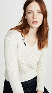 Michaela Buerger V Neck Cashmere Sweater
