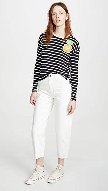 Michaela Buerger 香水条纹 T 恤