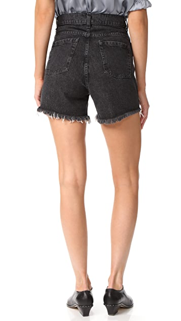 Magda Butrym Denim Shorts