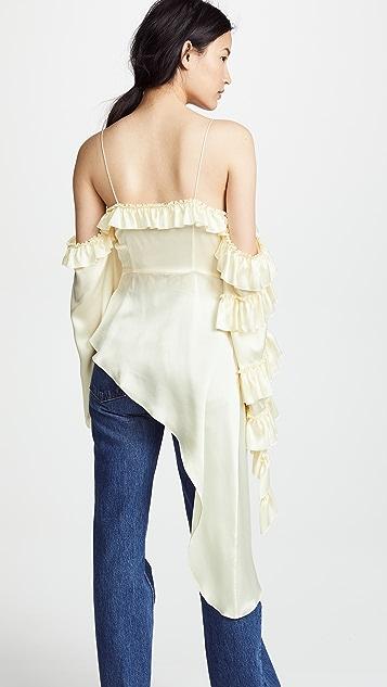 Magda Butrym Pireus Cream Top