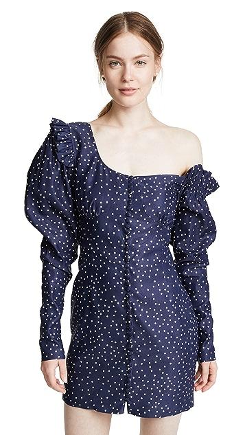 Magda Butrym Split Mini Dress