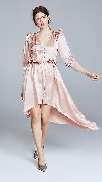 Magda Butrym Tarragona V Neck Dress