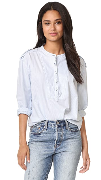 McGuire Denim Cushnie Striped Shirt