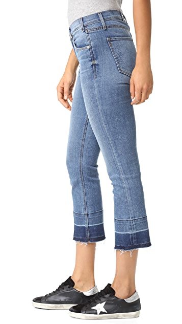 McGuire Denim Cropped Gainsbourg Jeans with Vintage Hem