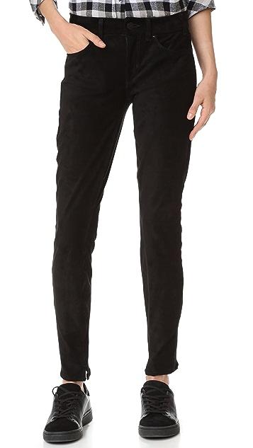 McGuire Denim Newton Faux Suede Skinny Jeans