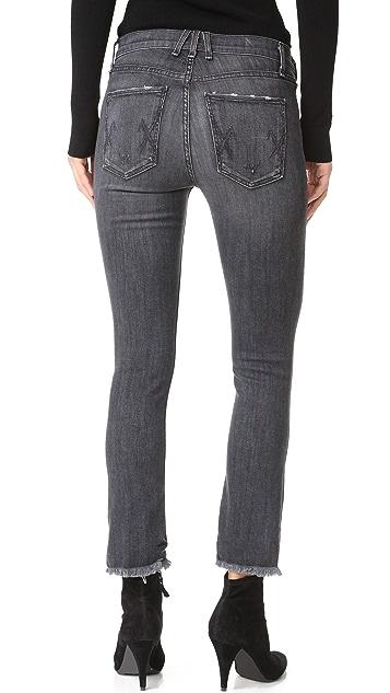 McGuire Denim Cropped Valetta Jeans with Raw Hem