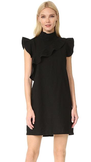 Sorbonne Dress In Black. Robe Sorbonne En Noir. - Size Xs (also In L,m,s) Mcguire - Taille Xs (également En L, M, S) Mcguire