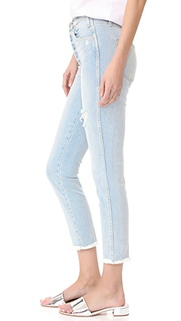 McGuire Denim High Waisted Vintage Slim Jeans