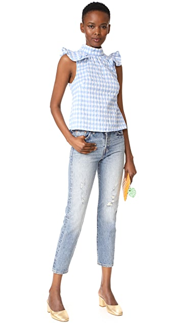 McGuire Denim Florentine Ruffle Top