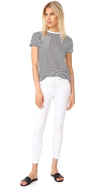 McGuire Denim Cropped Shore Leave Slim Jeans