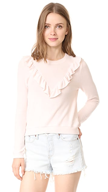McGuire Denim Tamarini Ruffle Top
