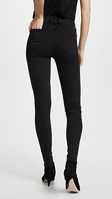 McGuire Denim Isabeli Lace Up Skinny Jeans