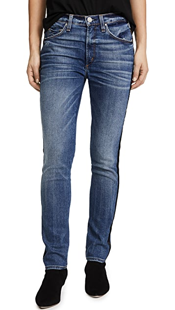 McGuire Denim Vintage Slim Jeans with Tuxedo Stripe