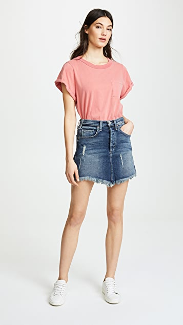 McGuire Denim Izabel High Rise Miniskirt