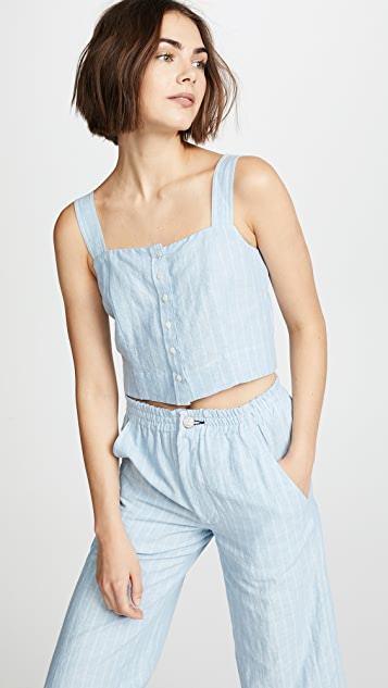 McGuire Denim Nobody Puts Baby in the Corner Top