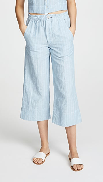 McGuire Denim Nobody Puts Baby in the Corner Culottes