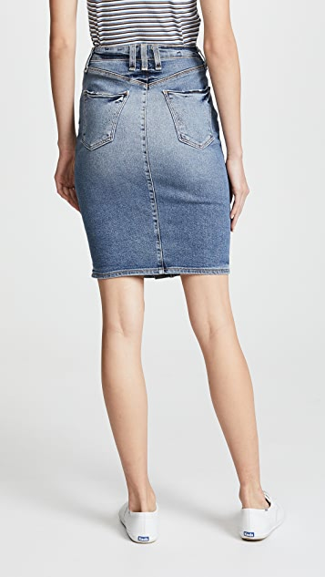 McGuire Denim Cartagena Pencil Skirt
