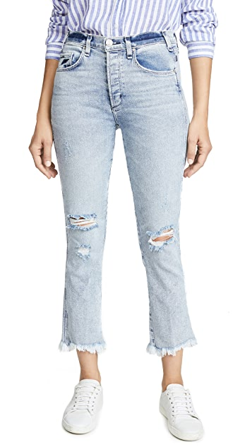 McGuire Denim High Rise Cropped Valletta Jeans