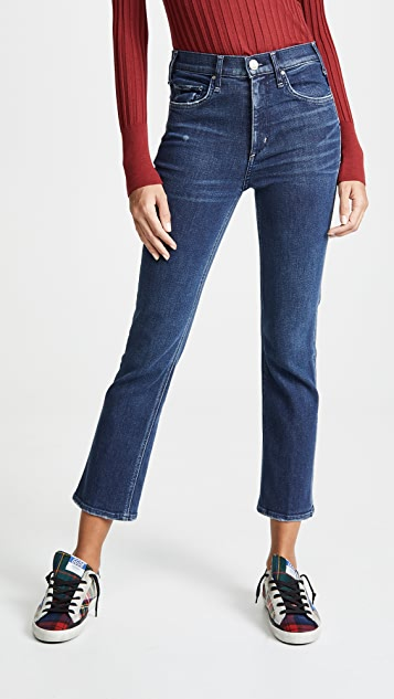 McGuire Denim High Rise Cropped Gainsbourg Jeans