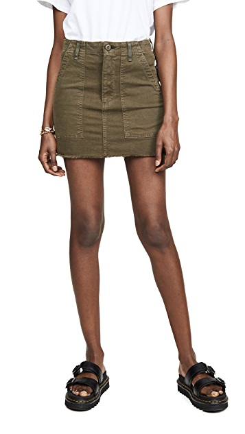 McGuire Denim Star Sign Utility Skirt