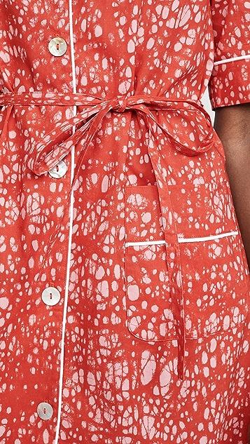 Maison Chateau Rouge Polo Dress