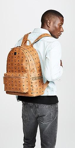 MCM - Stark Medium Side Stud Backpack