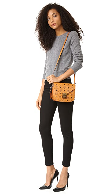 MCM Patricia Saddle Bag