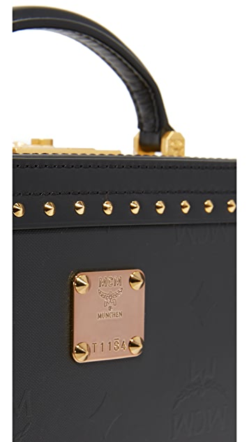 MCM Berlin Trunk Cross Body Bag