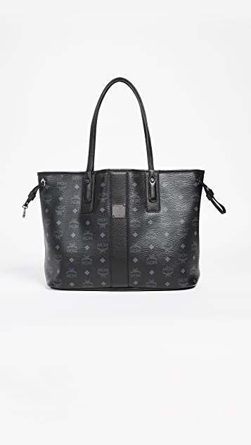 MCM Shopper Tote - Black