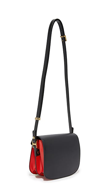 MCM Small Patricia Saddle Bag