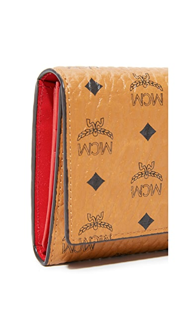 MCM Trifold Wallet