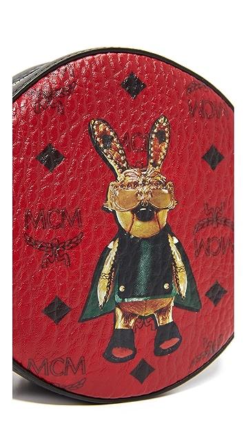 MCM Rabbit Tambourine Bag
